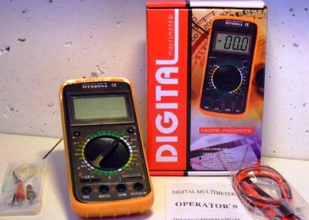 Мультиметр DT-9208-A, фото 2