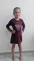 Тёплое ангоровое платье р.4,5,6,7 лет, фото 1