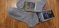 """Чоловічі бамбукові шкарпетки,класичні """"Monteks"""" 41-44 Сірі"""