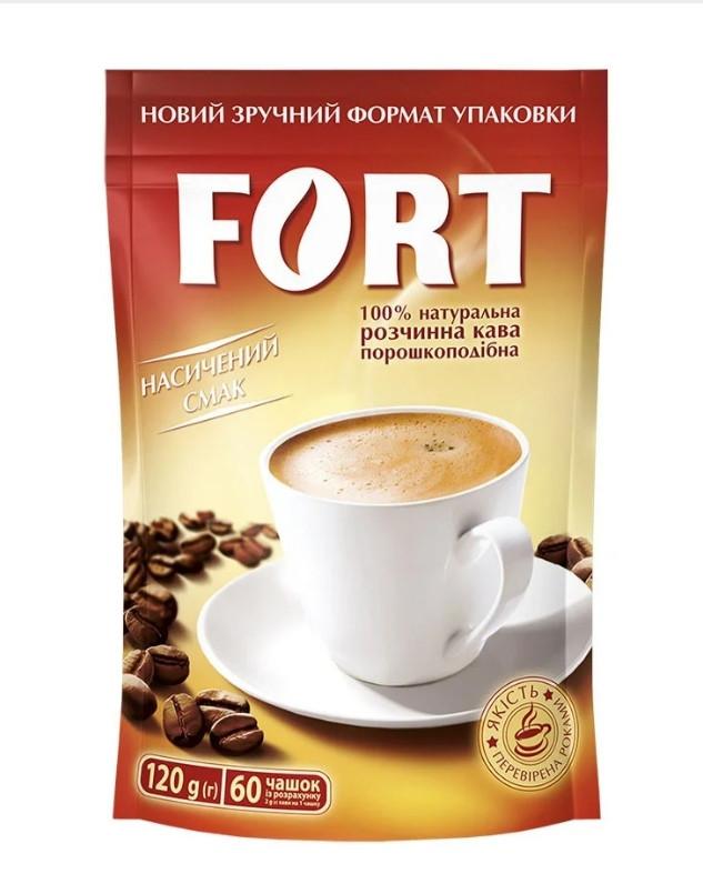 Кофе растворимый Форт 120г