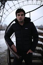 """Куртка мужская зимняя короткая стеганая Intruder """"Impression"""" черная в размере S M L XL XXL"""