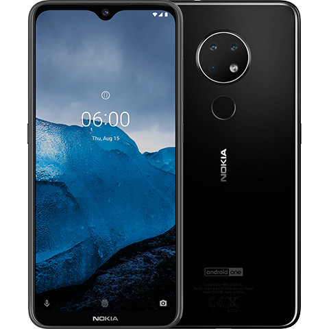 "Смартфон Nokia 6.2 4/64GB 6,3"" Black"