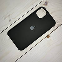 Чехол Silicone Case Apple iPhone 11 Black, фото 1