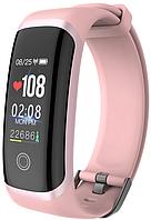 Фитнес-браслет Lerbyee M4 ( Wearpai M4 ) | IP67 | Тонометр | Розовый, фото 1