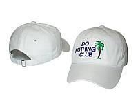 Кепка Do Nothing Club с логотипом мужская женская унисекс бейсболка