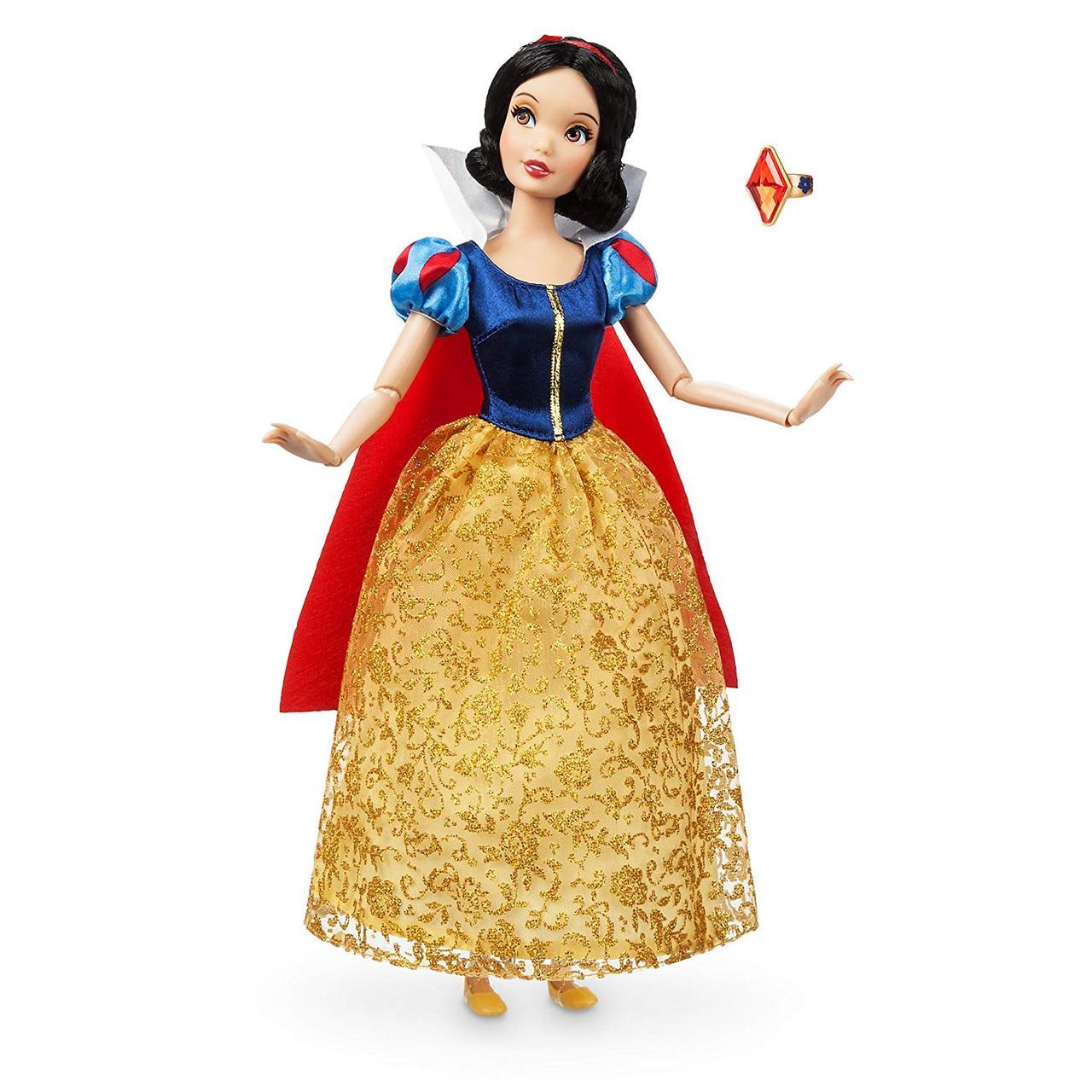 Disney Классическая кукла принцесса Белоснежка с кольцом