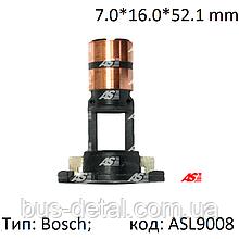 Контактные кольца генератора Bosch, 7.0*16.0*52.1 - мм, коллектор AS - ASL9008
