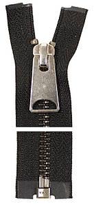 Молния металлическая YKK 50 см | Тип 5 * 1 бегунок * разъёмная * Блестящий Оксид