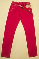 Стильные яркие  джинсы  для девочки   98.104.110.116.122.128  см, фото 1
