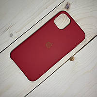 Чохол Silicone Case Apple iPhone 11 Pro Max Rose Red