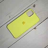 Чохол Silicone Case Apple iPhone 11 Pro Max Yellow