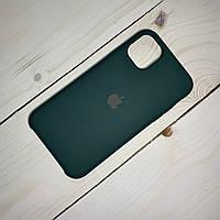 Чохол Silicone Case Apple iPhone 11 Pro Max Blackish Green