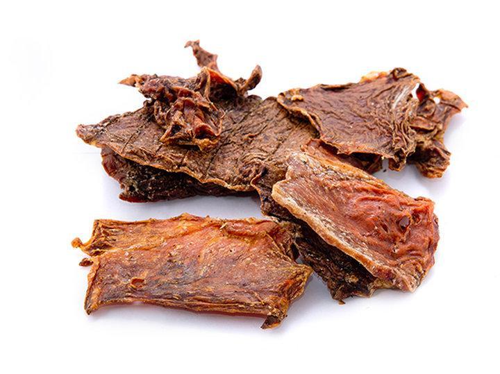 Лакомство для собак сушеное вымя говяжье 250 г