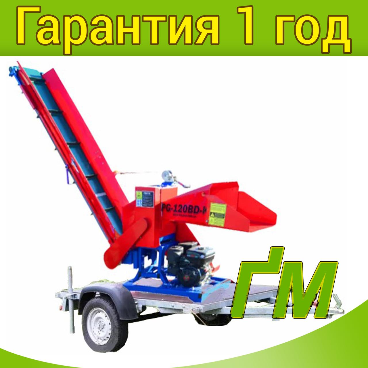 Измельчитель веток PG-120BD-KP