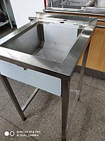 Производственная мойка 400*500*850 гл.250 односекционная