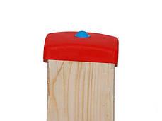 Пластиковая накладка на столб квадратный 100х100 мм., фото 3