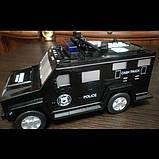Электронная копилка-сейф с кодовым замком и отпечатком cach truck машинка hummer, фото 2