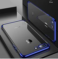 Прозрачный,противоударный силиконовый чехол  для iPhone 6 6S