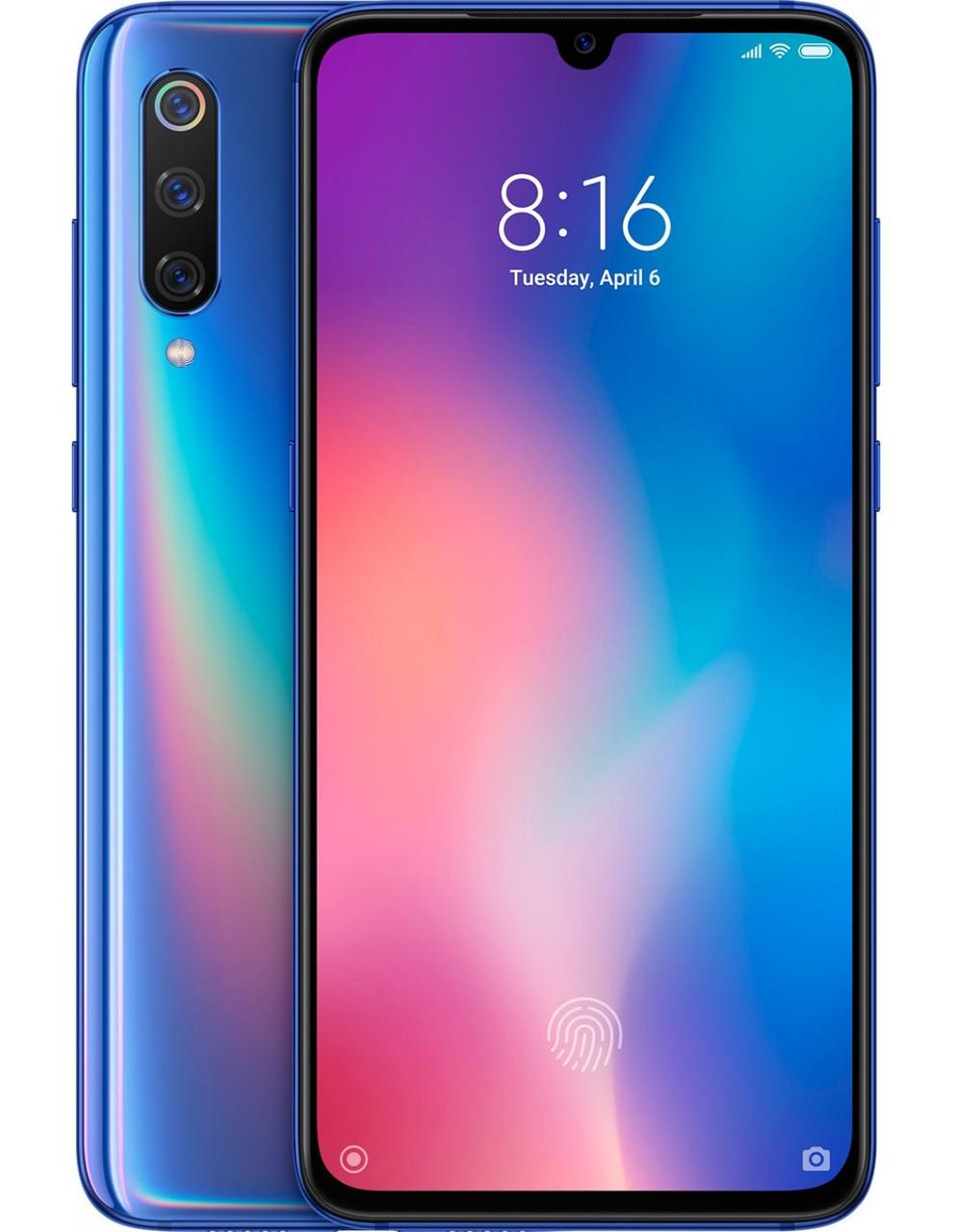 Смартфон Xiaomi Mi 9 6/128 Blue [Global] (M1902F1G) EAN/UPC: 6941059619437