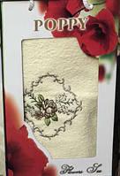 Полотенце Банное С Вышивкой В Подарочной Упаковке Размер 70х140 См Цвет В Ассортименте