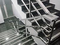 Перила из квадратной трубы из нержавеющей стали