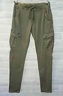 """Брюки-карго женские с накладными карманами, полубатал, размеры XS-XL """"PLAY"""" недорого от прямого поставщика"""