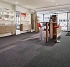 Ковролин в планках Flotex penang p982007 Penang zinc для офисов, коворкингов, фото 3