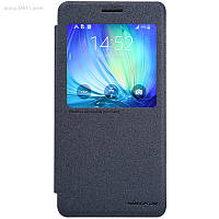 Чехол Nillkin Sparkle Leather Case для Samsung Galaxy A7 (A700) Dark Grey