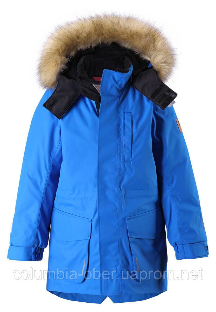 Зимняя куртка для мальчика Reimatec Naapuri 531351.9-6500. Размеры 104 - 164.