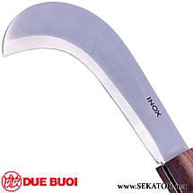 Ніж для обрізки Due Buoi 952/22 LAMA INOX (Італія), фото 2