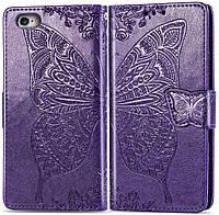 Чехол Butterfly для iPhone 7 / 8 Книжка кожа PU фиолетовый, фото 1