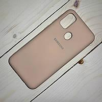 Силіконовий чохол Silicone Case Samsung Galaxy M30s (2019) Персиковий, фото 1