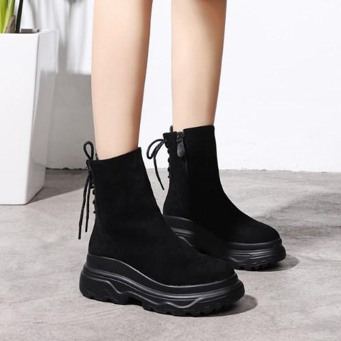Женские ботинки. Модель 8361
