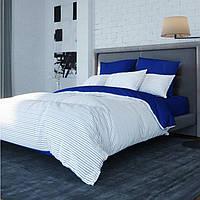 Комплект постельного белья двуспальный Синяя полоса Balak Home