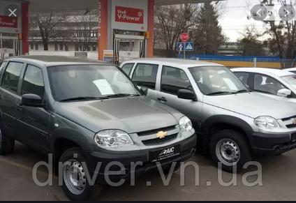 Дефлектори вікон вставні Chevrolet Niva 2006 -> 4D / вставні, 4шт/