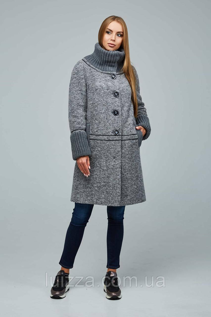 Стильне жіноче пальто 44-54р