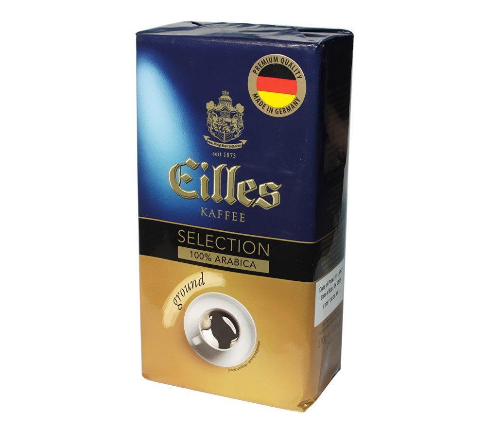 Кофе молотый Eilles Kaffee Selection 100% арабика 250 грамм в вакуумной упаковке
