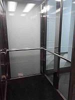 Поручни из нержавейки для лифтовых кабин. перила