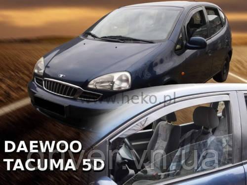 Дефлектори вікон вставні Chevrolet Tacuma 2004 -> 4D  2шт (передні)