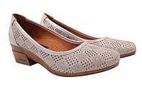 Туфли комфорт Guero натуральный сатин, цвет бежевый