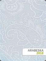 Ткань Арабеска для рулонных штор белая