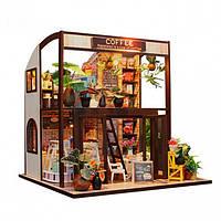 3D Интерьерный конструктор Midesize Diy Doll House Coffe house - 223375