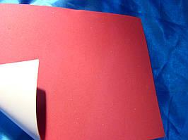 Фоаміран на клейкій основі  (Китай) 1,8 мм  червоний