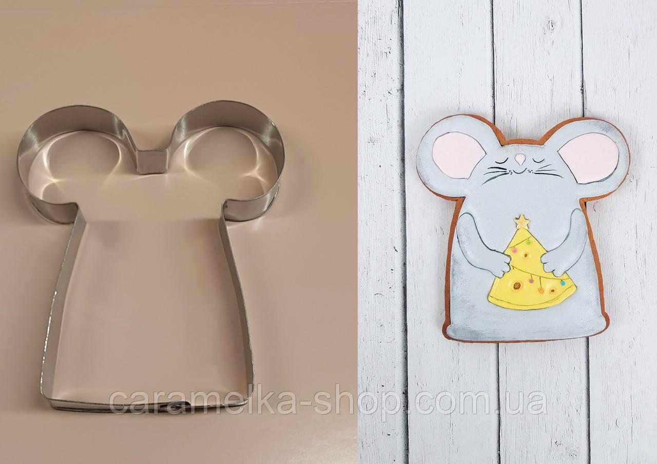 Високоміцна Вирубка для пряників і печива Мишка, символ року