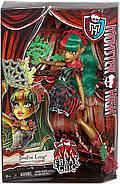 Monster High кукла Монстер Хай Дженифаер Лонг Фрик дуЧик оригинал от Mattel, фото 7