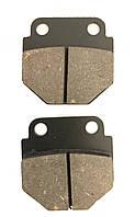 Тормозные колодки мото CB 125/150 куб. передние, дисковый тормоз