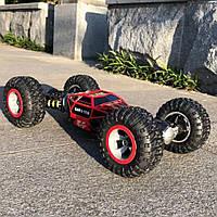 Машинка на радиоуправлении трансформер вездеход 37см (перевёртыш) Красный Original