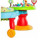 Игровой развивающий центр с ходунками и столиком Зоопарк  Bright Starts, фото 6