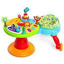 Игровой развивающий центр с ходунками и столиком Зоопарк  Bright Starts, фото 10