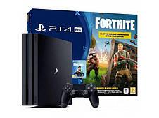 Стационарная игровая приставка Sony PlayStation 4 Pro 1Tb + Fortnite